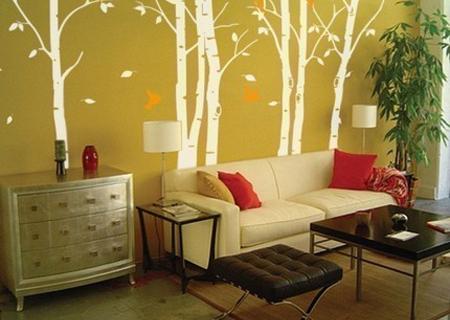 Декорирование стен без обоев