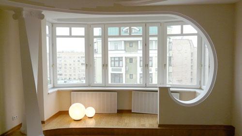 Как увеличить квартиру за счет балкона