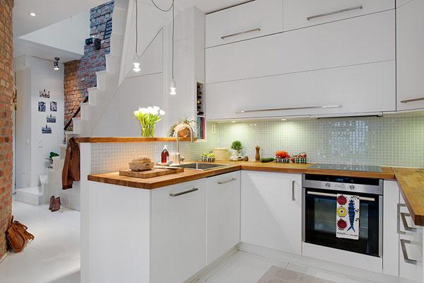 Дизайн кухни 5 кв. м. в эко-стиле