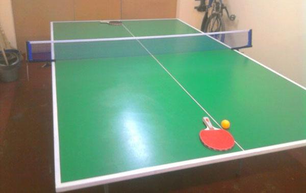 сделать теннисный стол