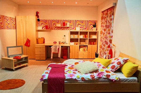 Особенности выбора мебели для детской спальни