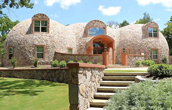 Купольный дом - новый вид экопостроений