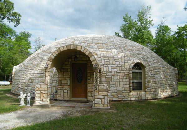 Купольный дом - вид экопостроений
