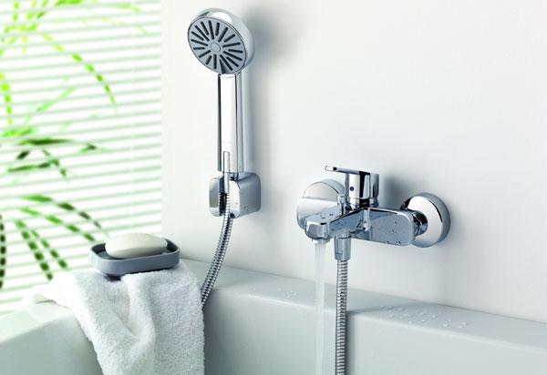 Как выбрать смеситель для ванны с душем