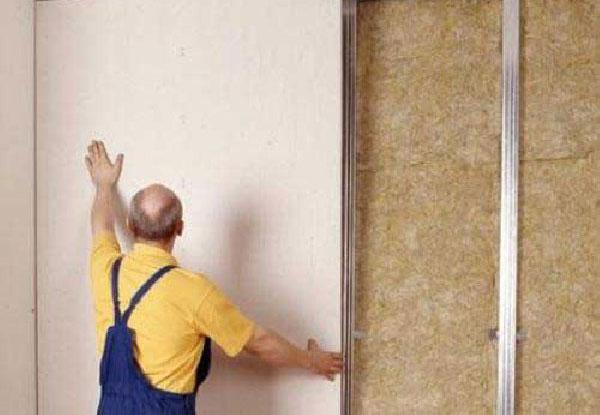 Выравнивание стен ГВЛ без профилей