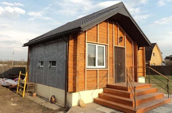 Утепление домов из бруса