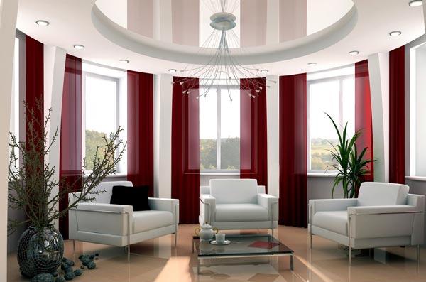 Натяжные потолки для изысканного и оригинального интерьера
