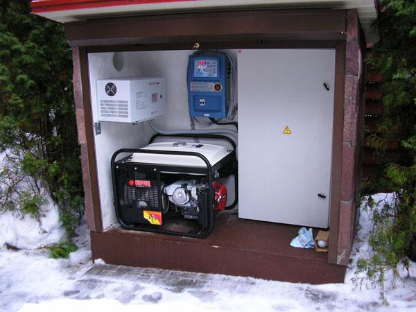 Генератор электрического тока для дома и дачи