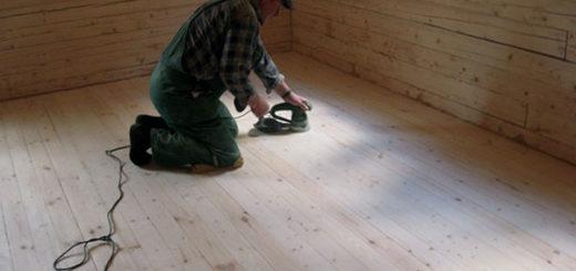 Выравнивание деревянного пола своими руками