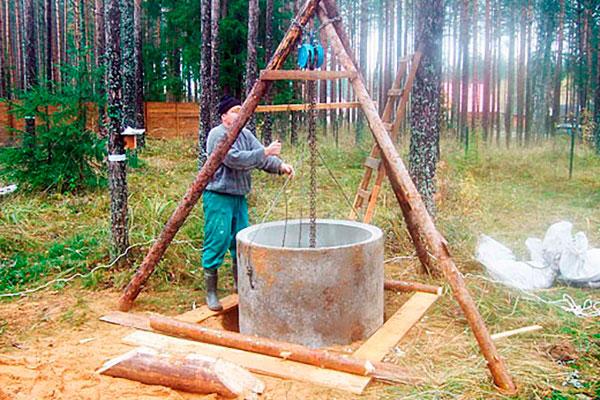 Как самостоятельно выкопать колодец на даче