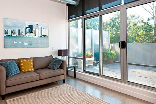 Раздвижные двери на террасу – ПВХ или алюминий
