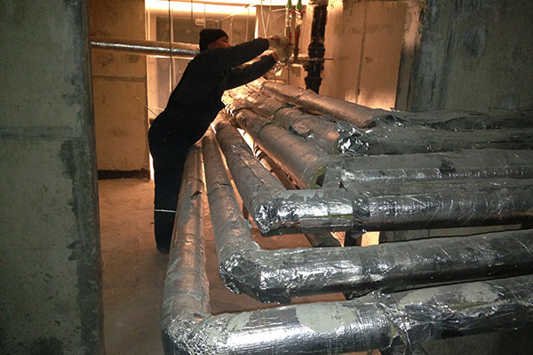 Как провести теплоизоляцию трубопроводов