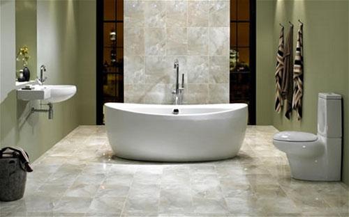 Выбираем лучший вариант пола в ванной комнате