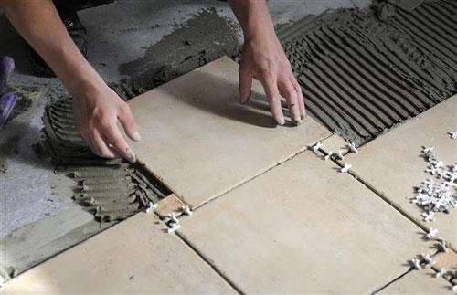 Монтаж напольной плитки своими руками