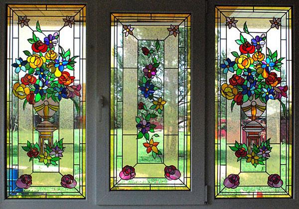 Особенности декорирования пластиковых окон