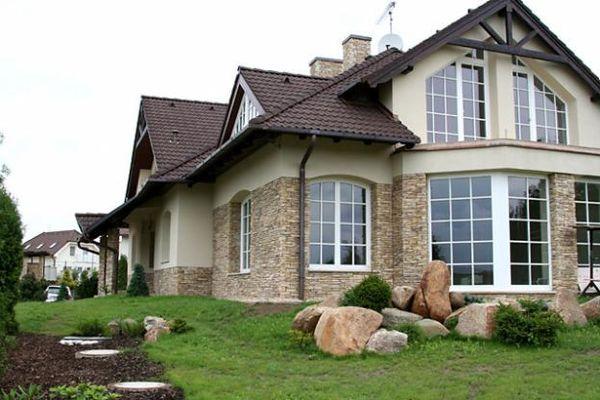 Загородный дом. Монолитное строение