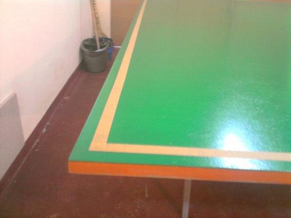самостоятельно сделать теннисный стол