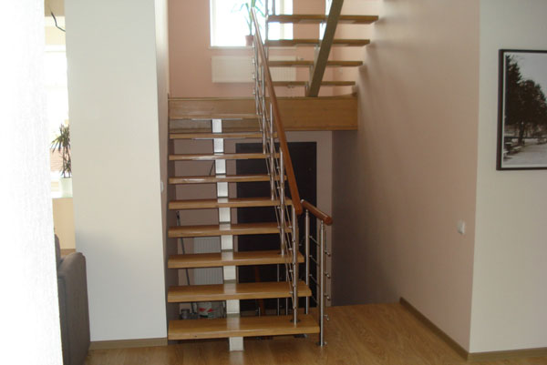 Строим лестницу правильно
