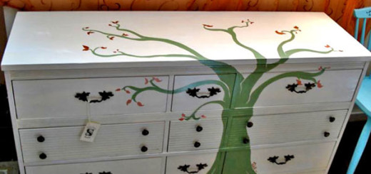 Окрашивание мебели своими руками