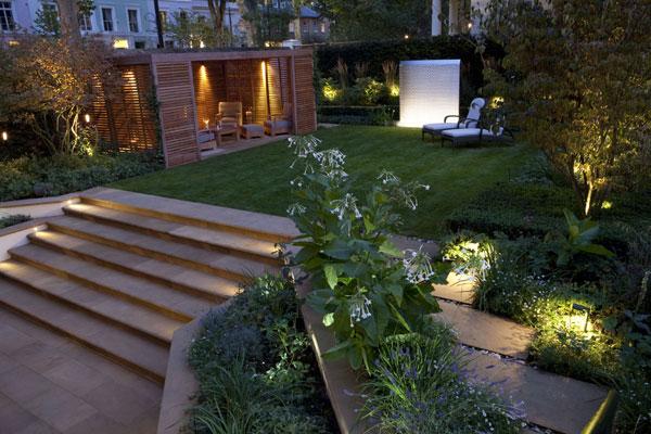 Светильники садово-парковые: главные принципы размещения