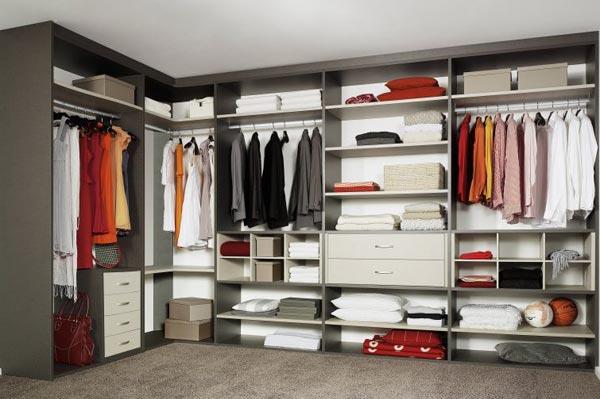 Советы по выбору мебели для гардеробной комнаты
