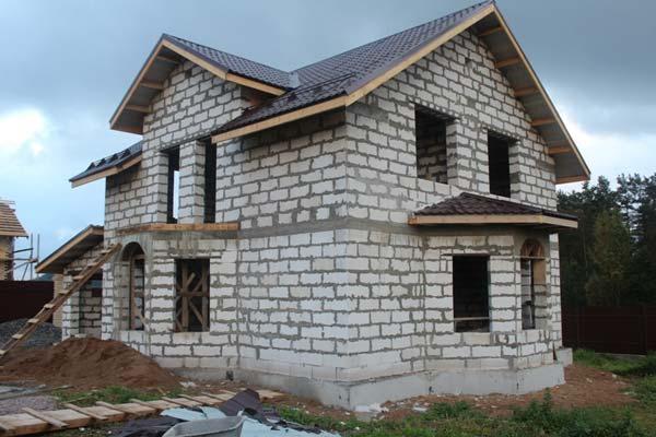 Построить дом из пеноблоков недорого под ключ цены в ижевске - e