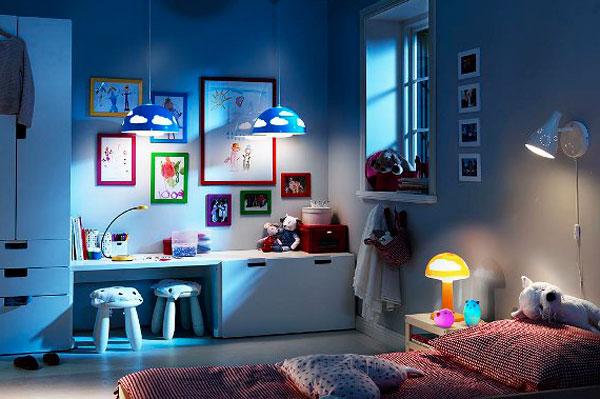 Идеальный светильник для детской: каким он должен быть