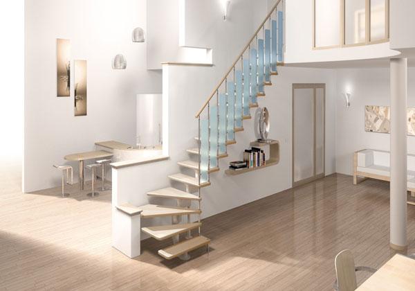 Модульные лестницы. Преимущества и недостатки