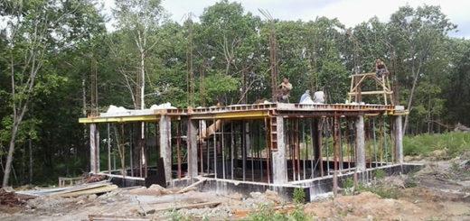 Особенности строительства монолитного каркаса для дома