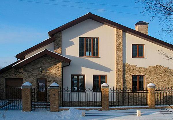 Ремонт фасадов в москве и московской