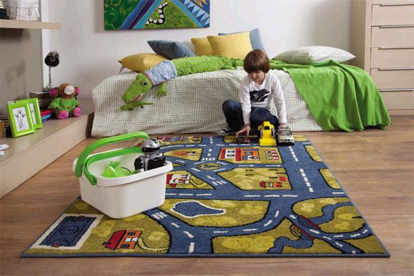 Виды напольного покрытия для детской комнаты