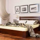 Кровать с мягким или деревянным изголовьем