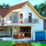 Принципы монтажа отопления загородного дома